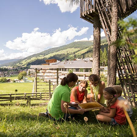Kinderbetreuung im Family Resort Rainer