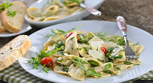South Tyrolean ravioli - gluten-free