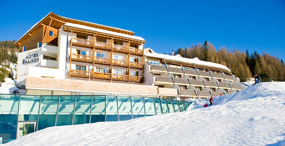Hotel Rainer in Sexten im Winter