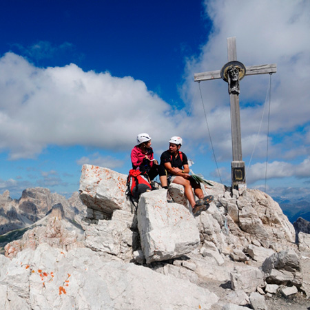 Tour Summit nelle Dolomiti