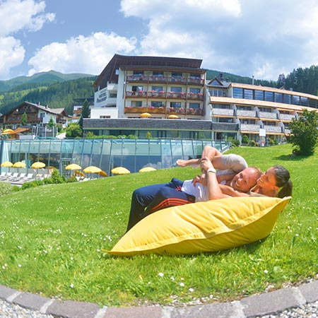 A pleasure for two at the Family Resort Rainer
