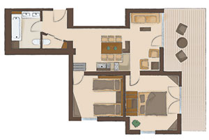 Map of the Superior-Suite