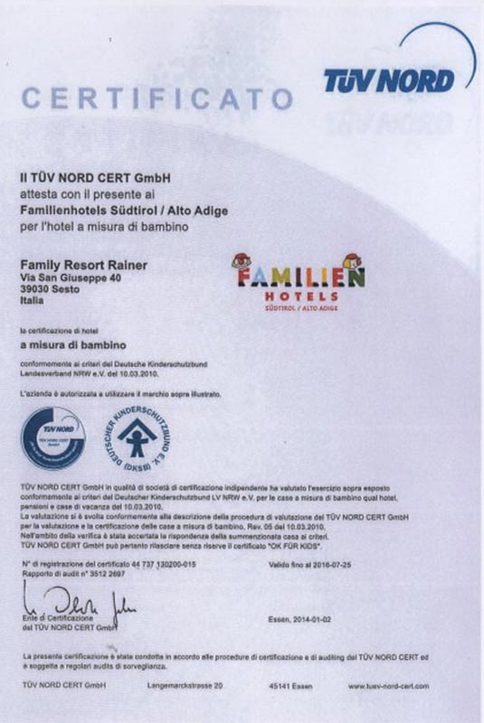 TÜV certification for solar systems
